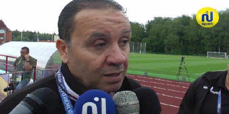 نبيل معلول: لن ابحث عن الاعذار.. وقمت بخطأ كبير عند اقحام السليتي في مباراة بلجيكا   (فيديو)
