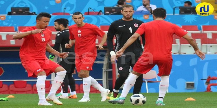 بالفيديو: تدريبات المنتخب الوطني التونسي استعدادا لمواجهة بنما