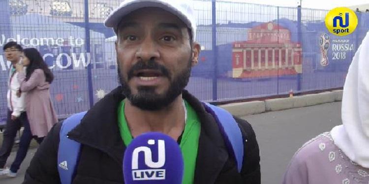 تصريحات الجماهير السعودية بعد هزيمة منتخبهم أمام روسيا  ( فيديو)