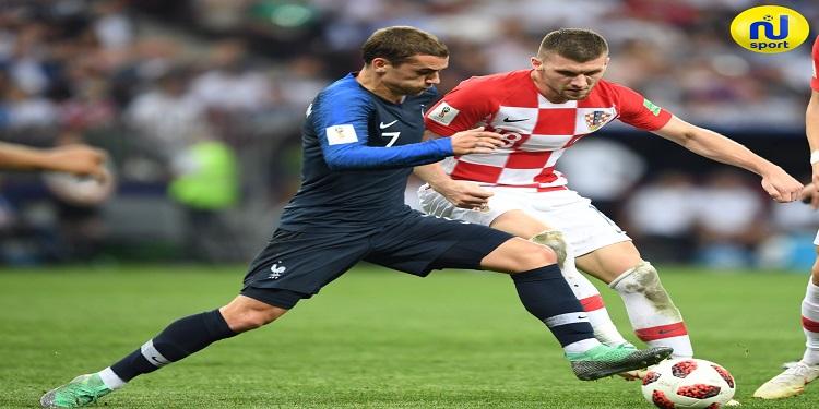 صور مباراة النهائي بين المنتخب الفرنسي و المنتخب الكرواتي
