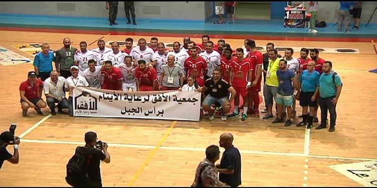 أجواء المباراة الخيرية في كرة اليد بين المنتخب الوطني لسنة 2005 ومنتخب 2018