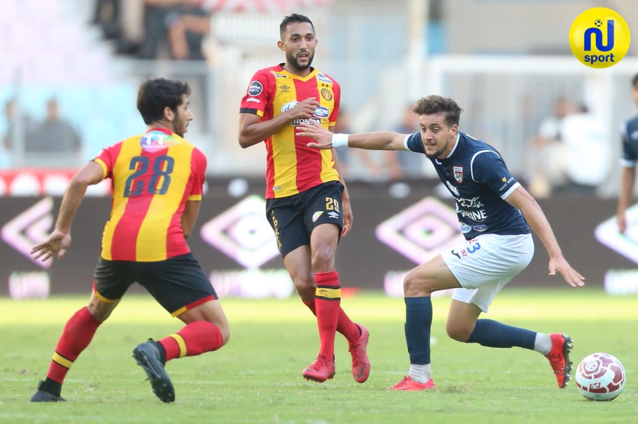 صور الشوط الثاني لمباراة الترجي الرياضي التونسي والملعب التونسي