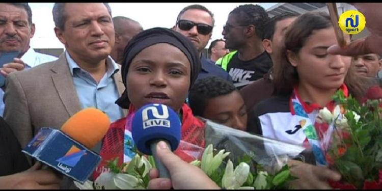 غفران بالخير : مبروك لتونس هذا التتويج وطموحي مواصلة حصد الميداليات