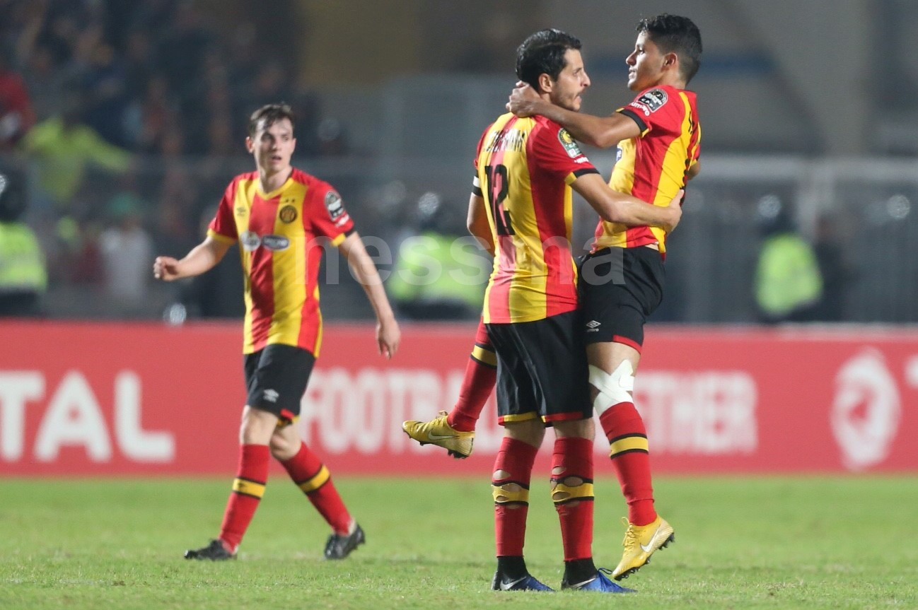صور الشوط الأول من مباراة الترجي الرياضي التونسي والأهلي المصري