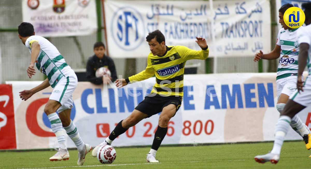 صور الشوط الأول من مباراة النادي البنزرتي والشبيبة القيروانية