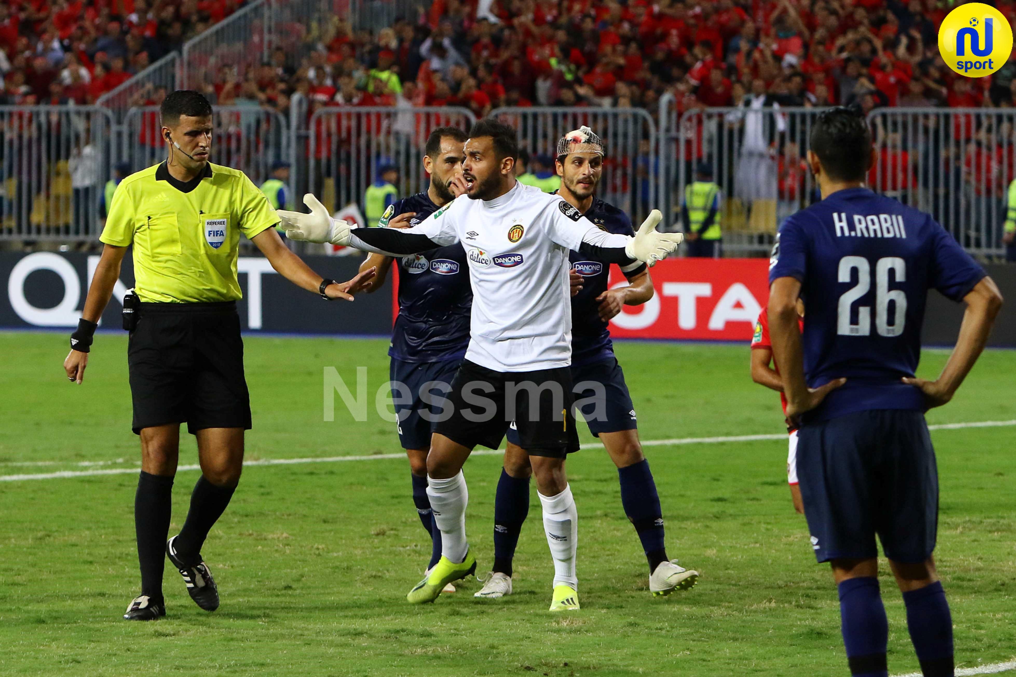 صور الشوط الثاني لمباراة الأهلي المصري و الترجي الرياضي التونسي
