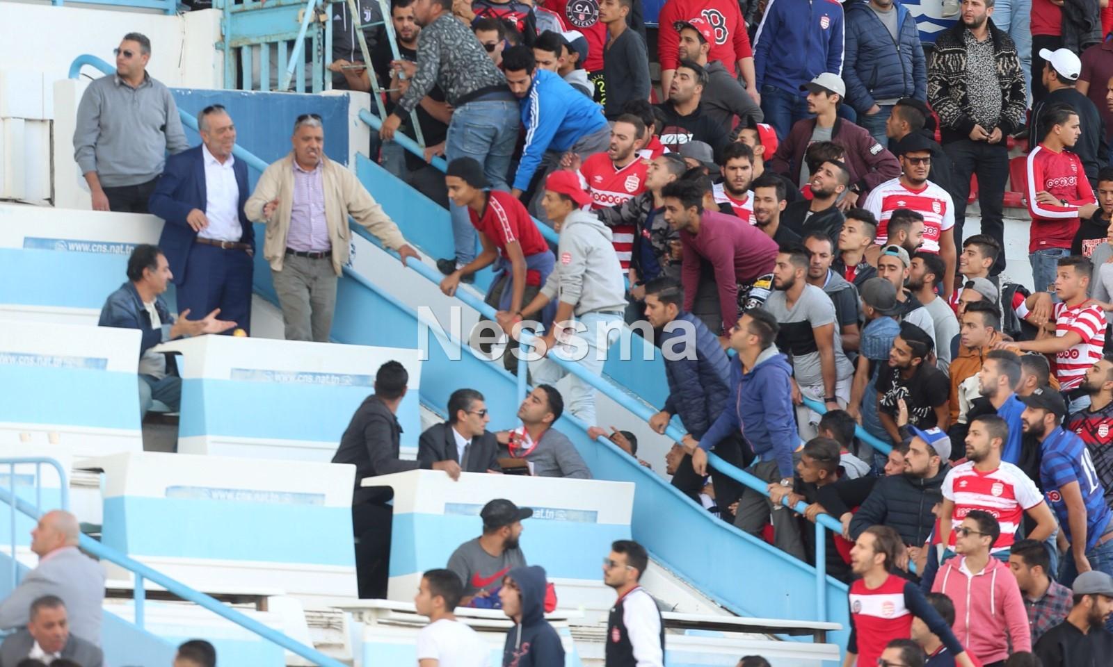 صور من مباراة مستقبل قابس و النادي الإفريقي