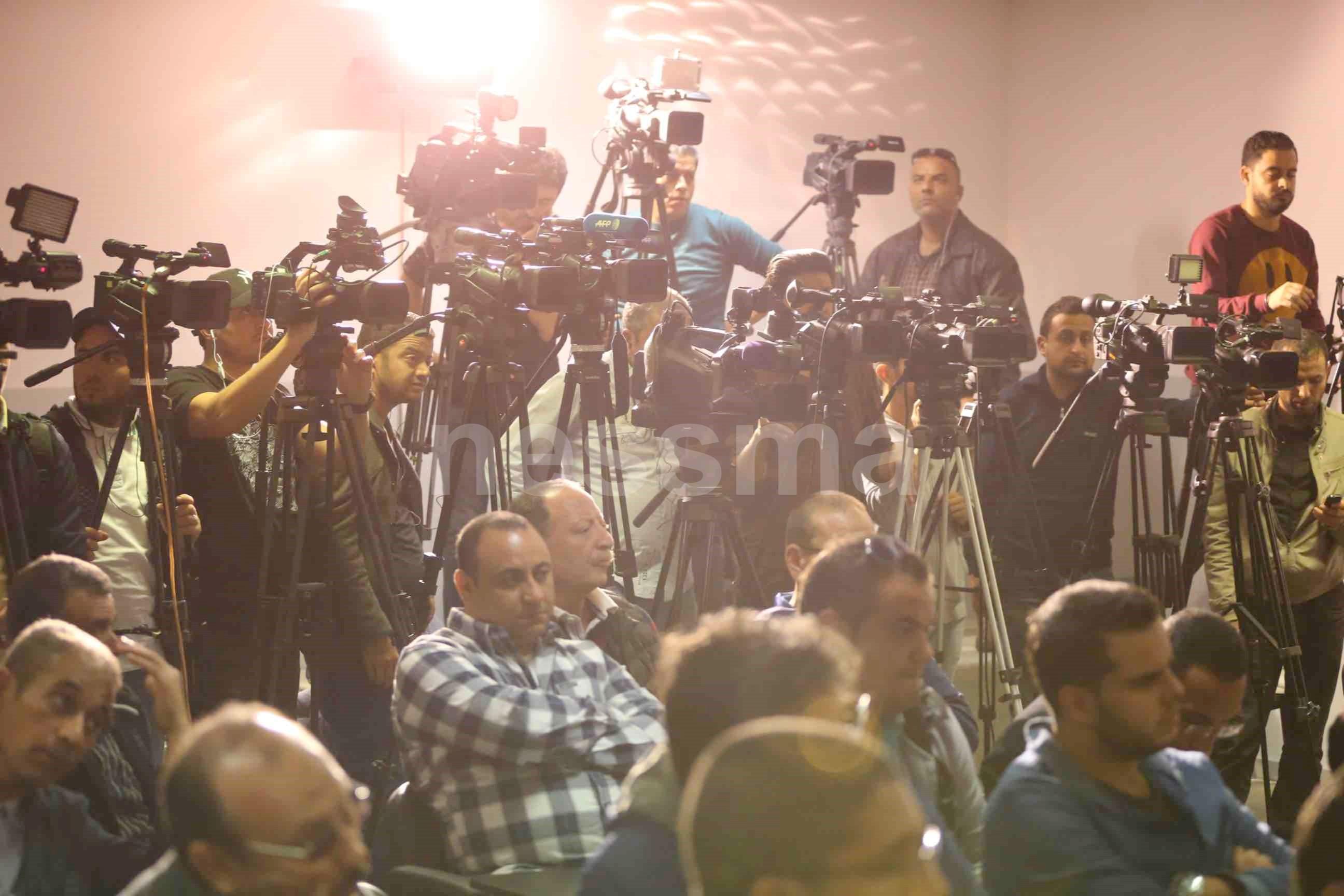 صور من الندوة الصحفية الخاصة بالترجي الرياضي التونسي
