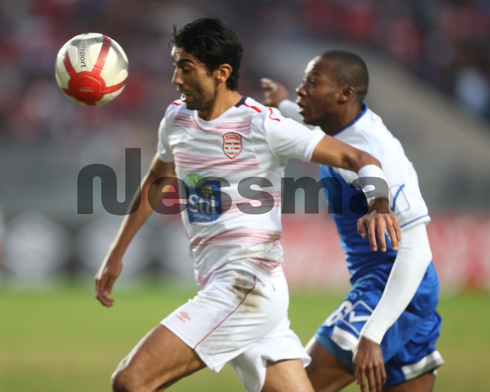 صور الشوط الاول من مباراة النادي الافريقي والهلال السوداني