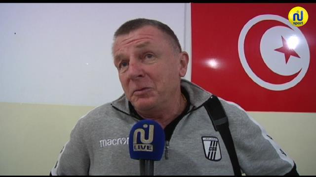 مدرب النادي الصفاقسي : '' اليوم خاننا الجانب الذهني ونعد جماهيرنا بالثأر في لقاء الأسبوع المقبل '' (فيديو)