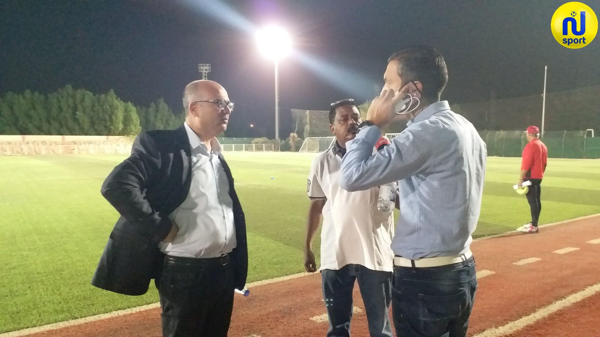 صور تمارين النادي الإفريقي إستعدادا لمواجهة الهلال السوداني