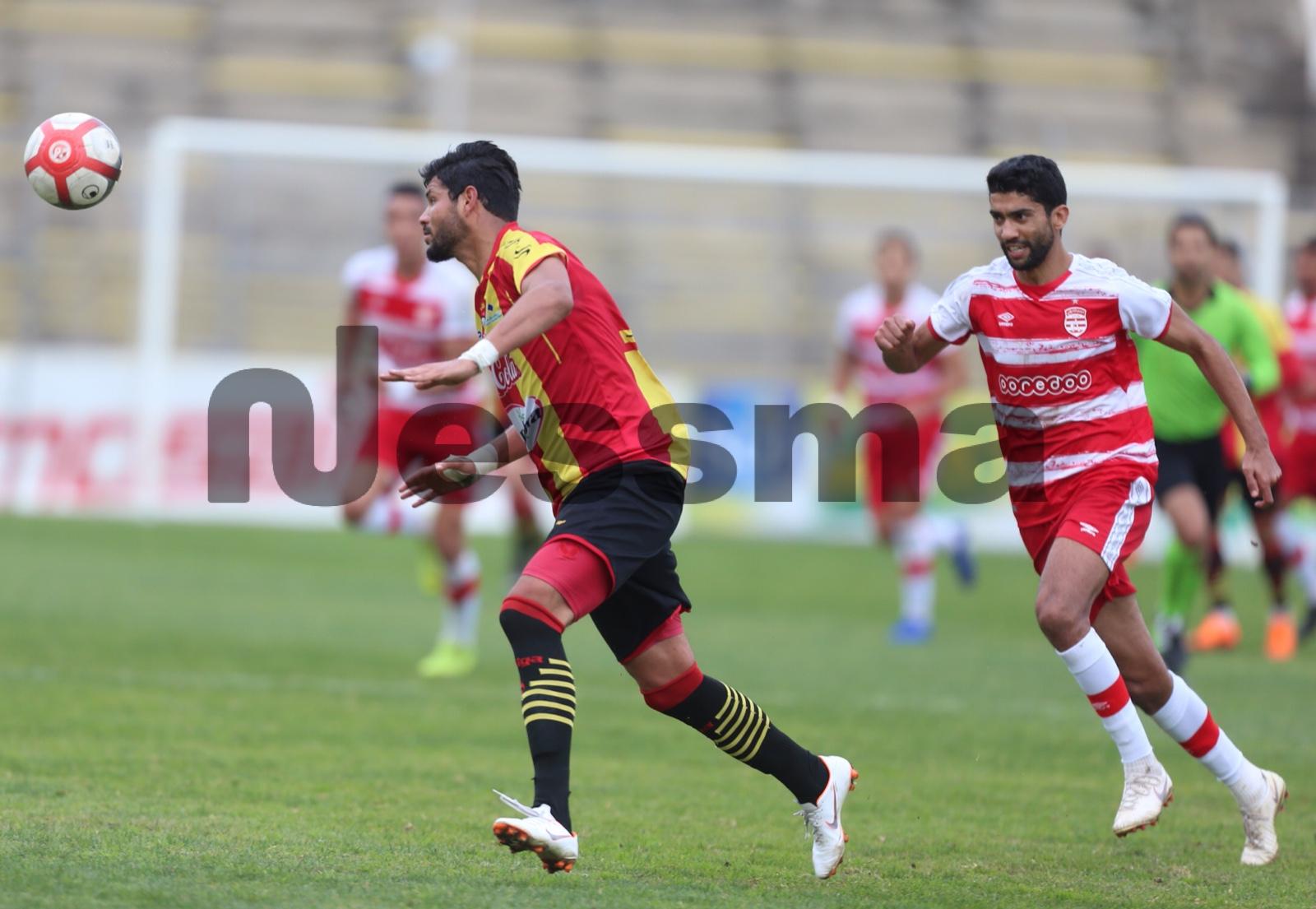 صور الشوط الثاني من مباراة النادي الإفريقي ونجم المتلوي