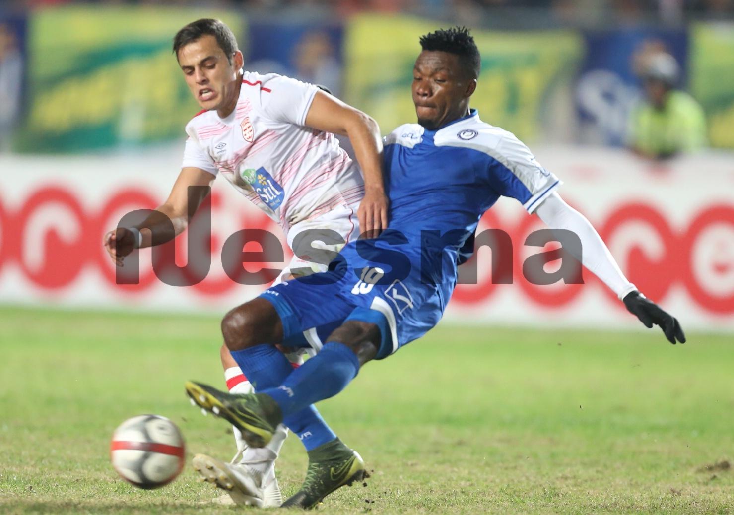 صور الشوط الثاني من مباراة النادي الافريقي والهلال السوداني