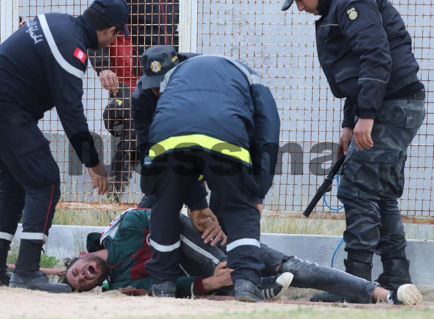 إصابة خطيرة لمحب من الملعب التونسي