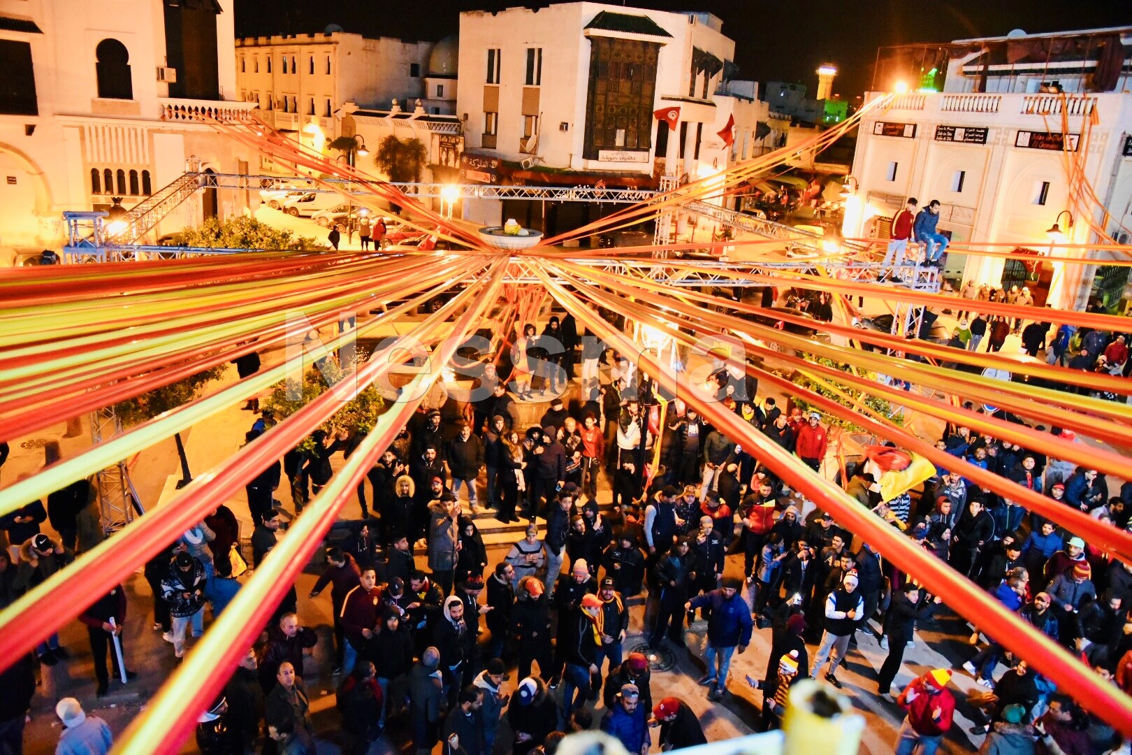 صور إحتفالات الترجي بالمئوية