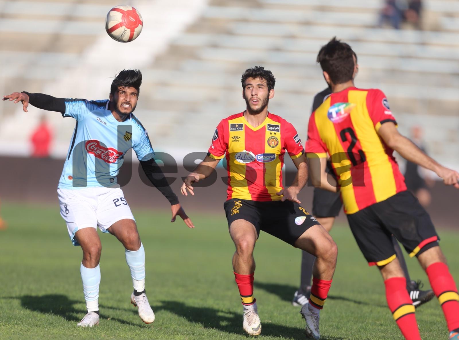 صور الشوط الثاني  من مباراة الترجي الرياضي وإتحاد بن قردان