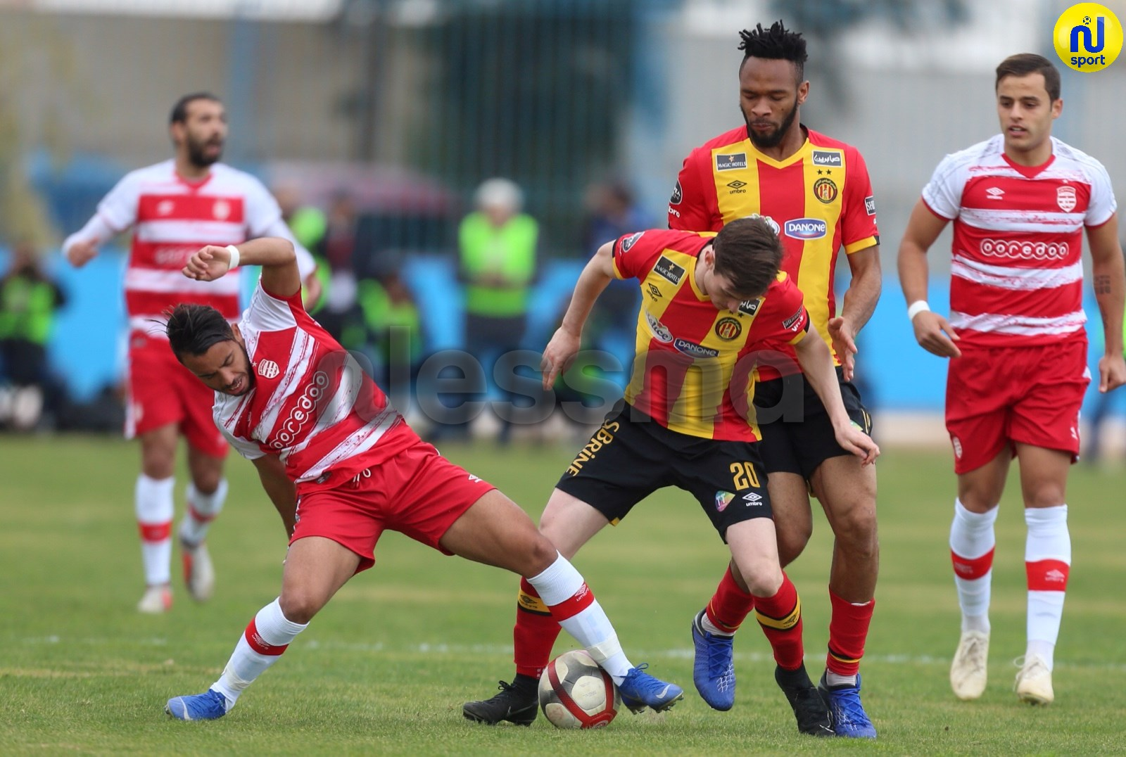 صور الشوط الأول من مباراة الترجي الرياضي التونسي و النادي الإفريقي