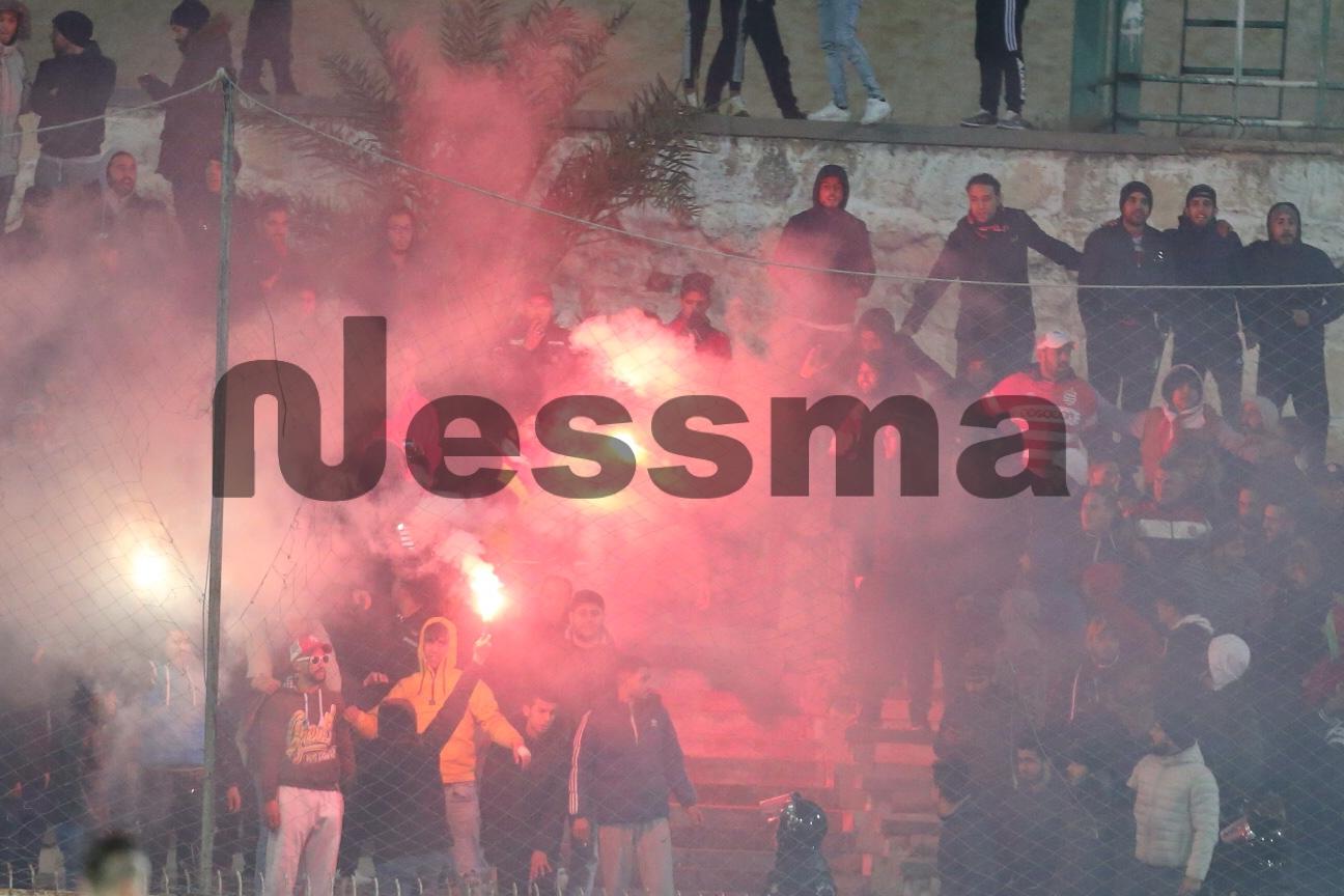 صور الشوط الثاني من مباراة النادي الافريقي وقسنطينة الجزائري