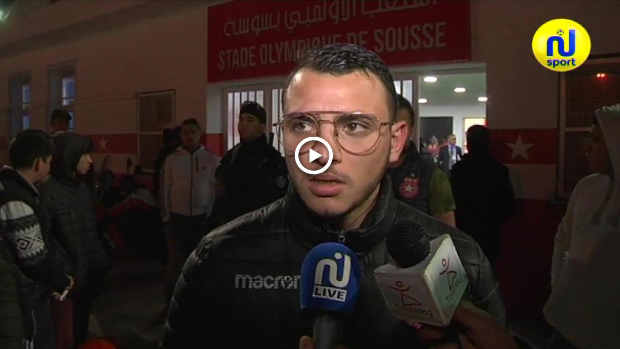 حازم الحاج حسن: لم نتمكن من التجسيم.. والآن سنركز على مباراة اياب البطولة العربية