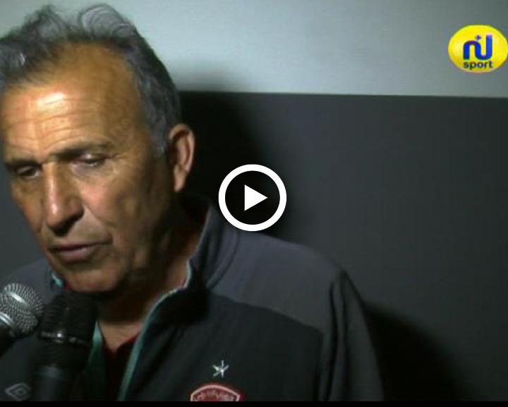 فيكتور زفونكا : بدأنا المباراة جيدا.. والحكم حرمنا من ضربة جزاء في البداية كانت ستغير وجه اللقاء