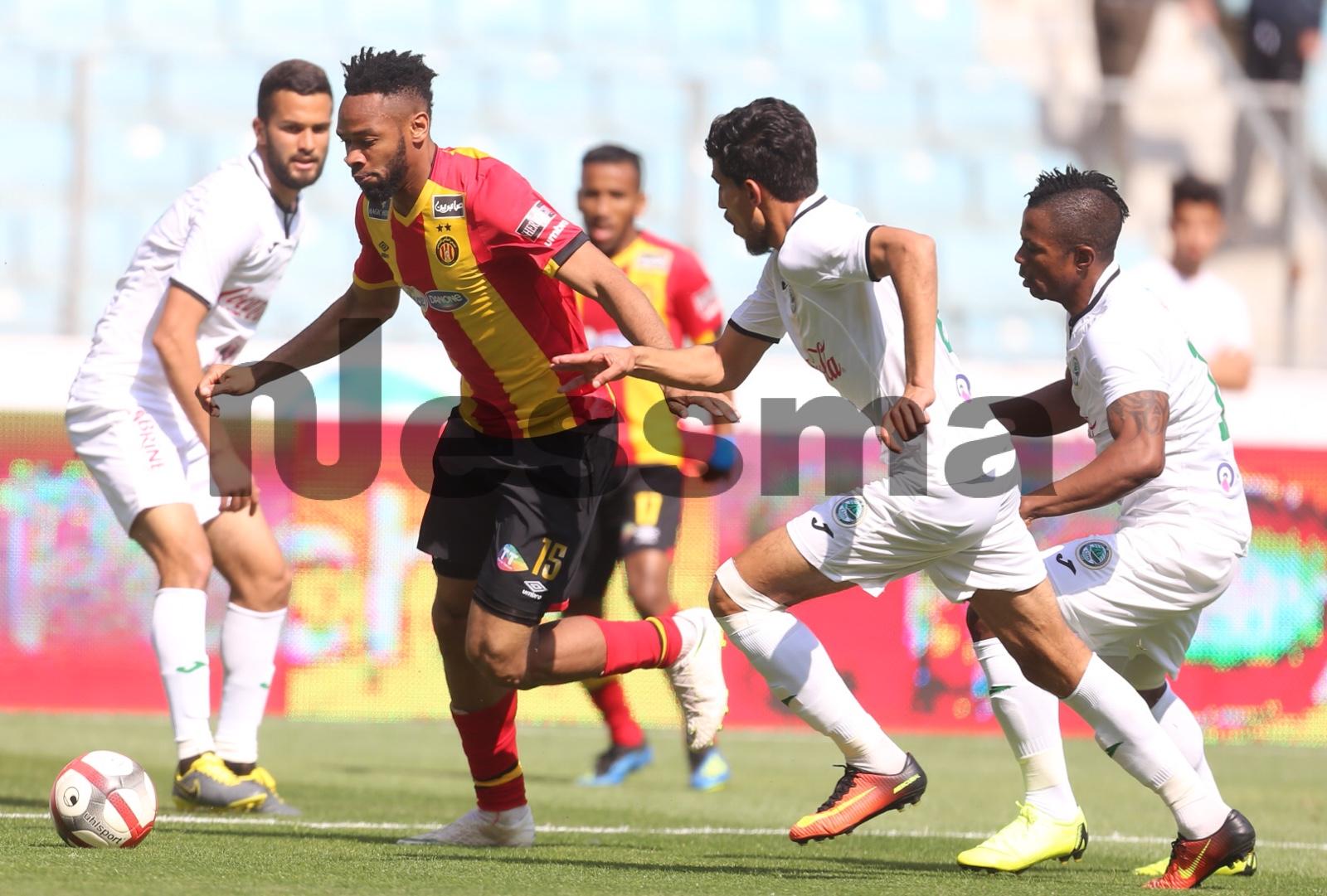 صور الشوط الثاني من مباراة الترجي الرياضي التونسي و نادي حمام الأنف