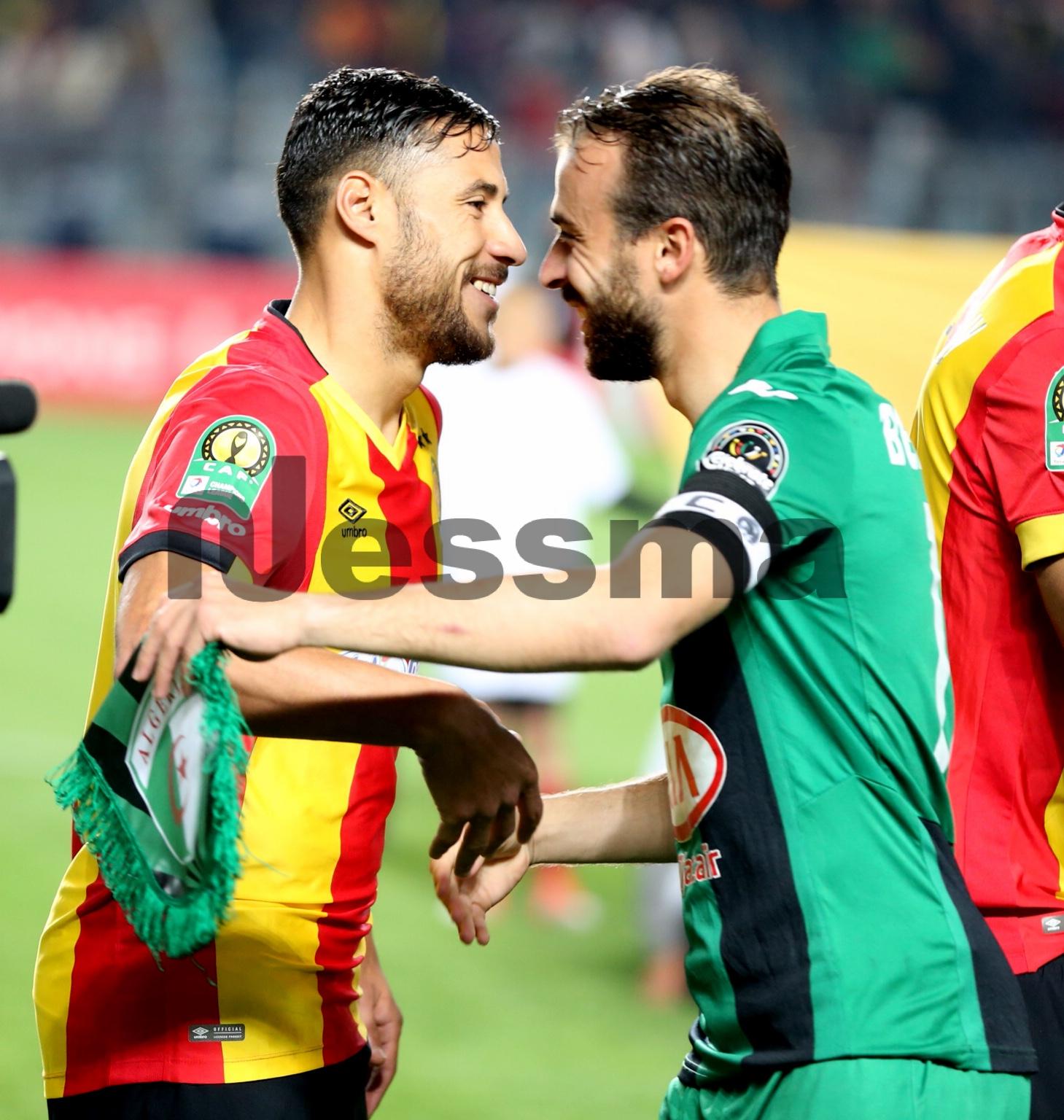 صور الشوط الأول من مباراة الترجي الرياضي التونسي و شباب قسنطينة