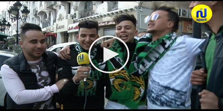 جماهير قسنطينة: نشكر الجماهير التونسية على حسن الضيافة.. ونحنا والمكشخين خاوا خاوا  (فيديو)