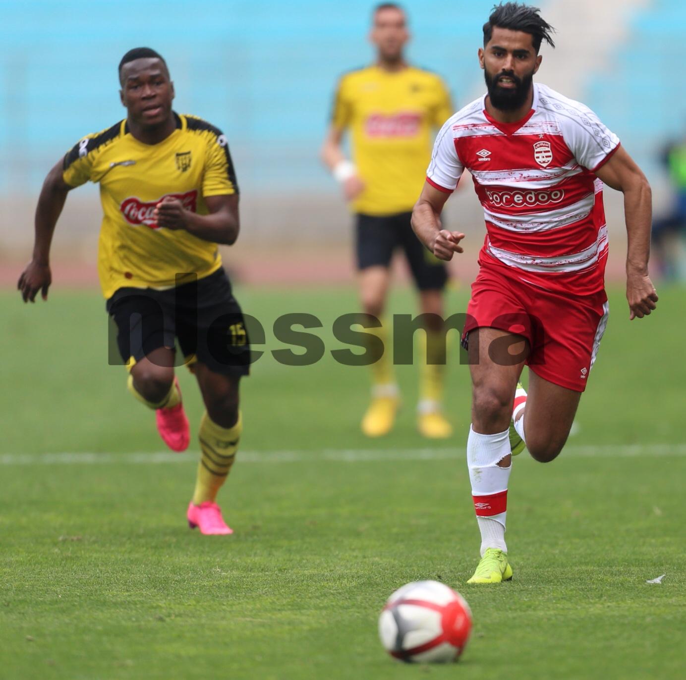 صور الشوط الثاني من مباراة النادي الإفريقي وإتحاد بن قردان