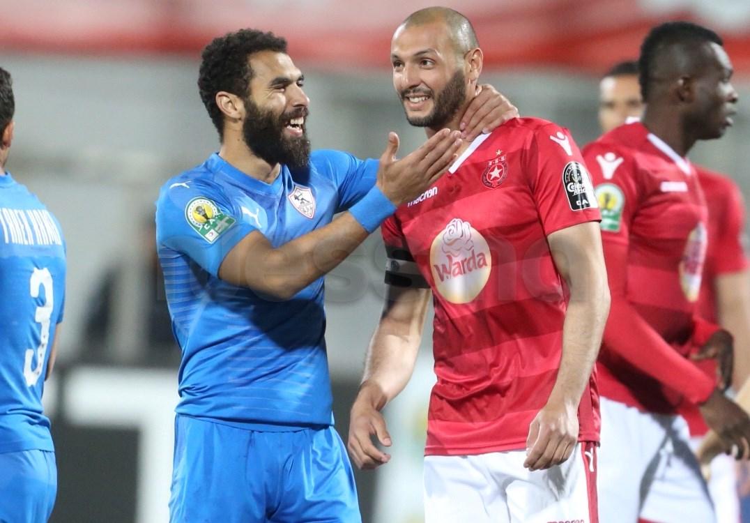 صور مباراة النجم الساحلي و الزمالك المصري