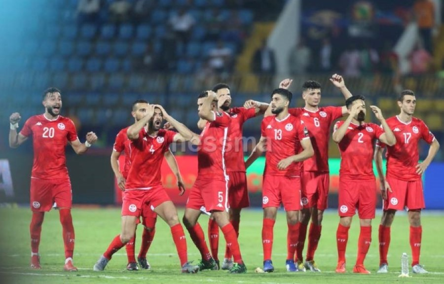 صور فرحة المنتخب التونسي بالتأهل للربع النهائي