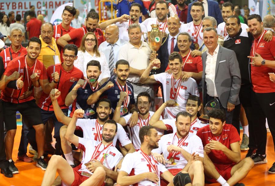 صور تتويج المنتخب الوطني التونسي بكأس أمم إفريقيا