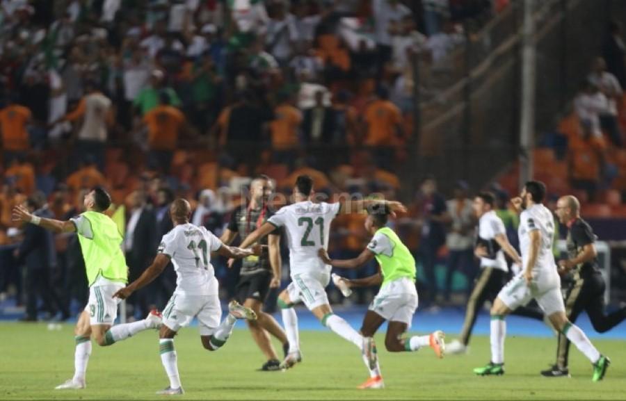 صور الشوط الثاني من مباراة نهائي كأس أمم إفريقيا بين الجزائر والسنغال