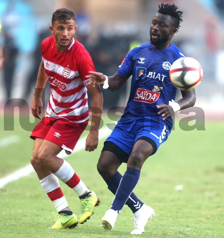 صور الشوط الثاني من مباراة النادي الافريقي والاتحاد الرياضي المنستيري