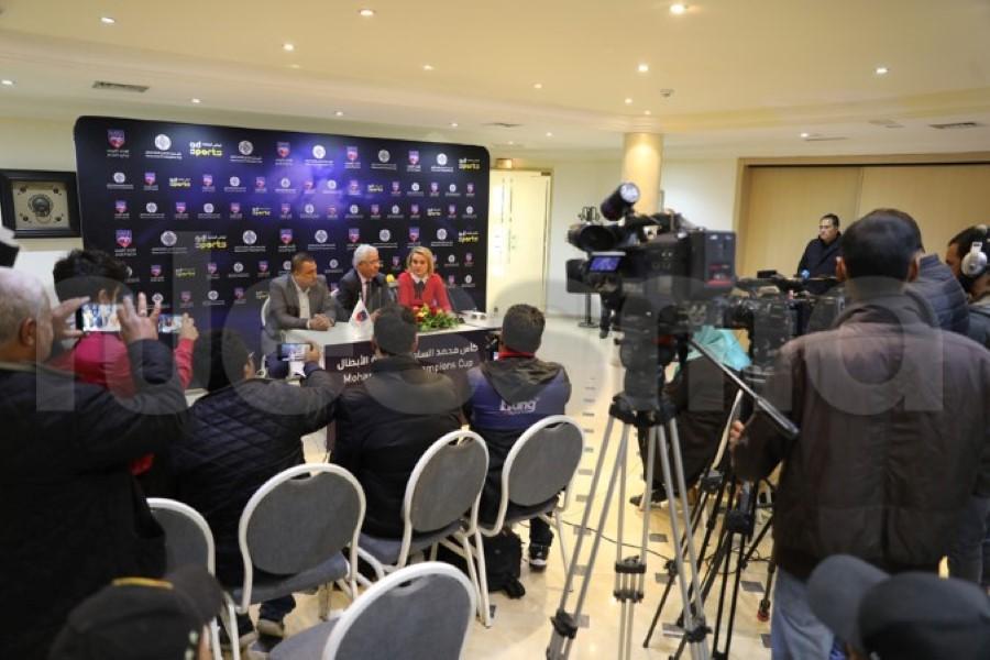 صور الندوة الصحفية لمقابلة الترجي الرياضي التونسي وأولمبيك آسفي المغربي