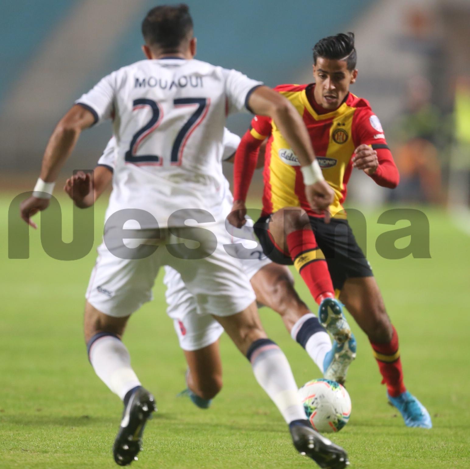 صور الشوط الثاني لمواجهة الترجي الرياضي التونسي ونادي أولمبيك أسفي المغربي