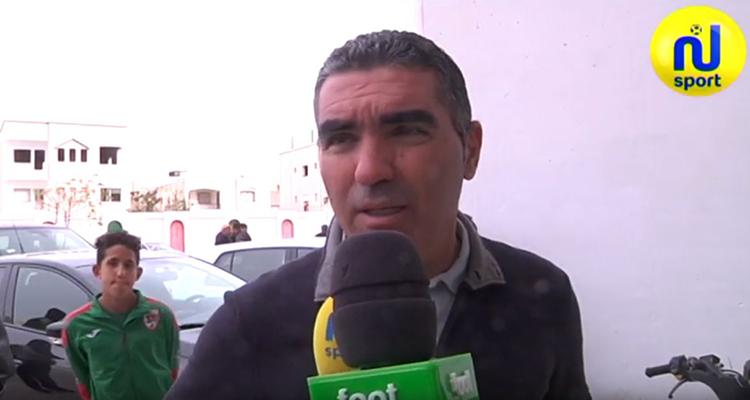جلال القادري :فوز اليوم هام لإسترجاع الثقةبعد الهزيمة أمام الإتحاد المنستيري
