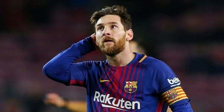 ميسي يتوجه برسالة لأنصار برشلونة