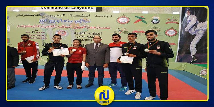 تايكواندو: ذهبية و ثلاث برونزيات لتونس في البطولة العربية