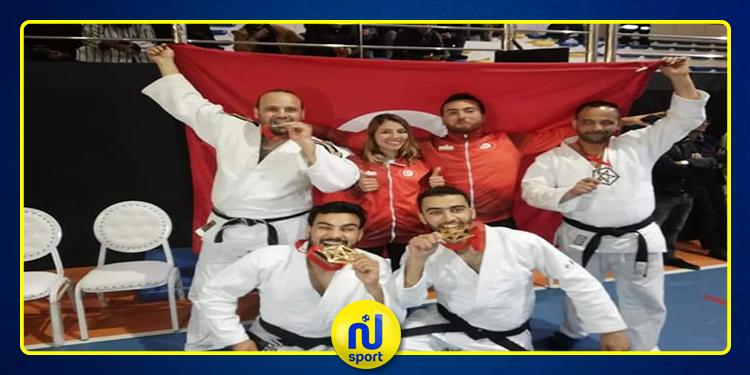 حصيلة إيجابية للعناصر الوطنية في رياضة الجوجتسو في أول مشاركة قارية