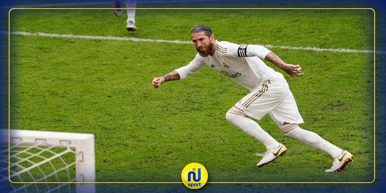 راموس يقود ريال مدريد إلى تحقيق فوز ثمين أمام أتلتيك بلباو