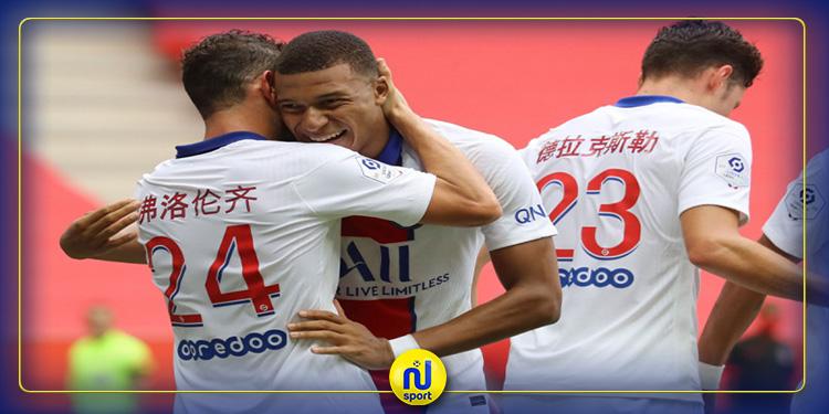 الدوري الفرنسي: باريس سان جيرمان يحقق فوزه الثاني تواليا