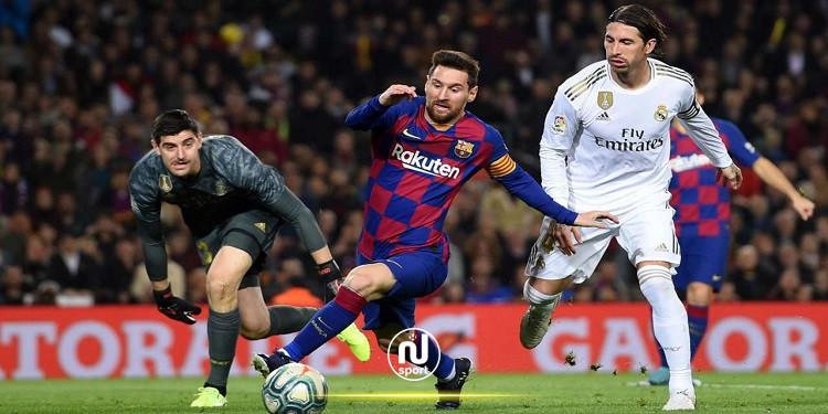 الدوري الإسباني: التشكيلة المنتظرة لمواجهة الكلاسيكو