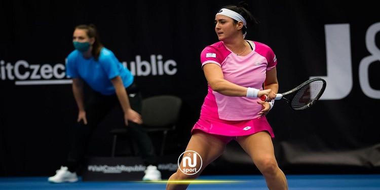 تنس: أنس جابر تفرط في فرصة بلوغ نصف نهائي بطولة أوسترافا
