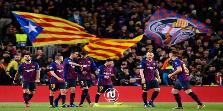 برشلونة يطالب بالسماح لجماهيره حضور لقاءات دوري الأبطال