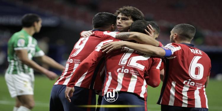 الدوري الإسباني: أتلتيكو مدريد يقفز إلى الوصافة