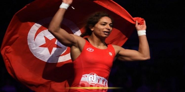 مصارعة: مروى العامري تحرز المركز الخامس في دورة بولونيا المفتوحة