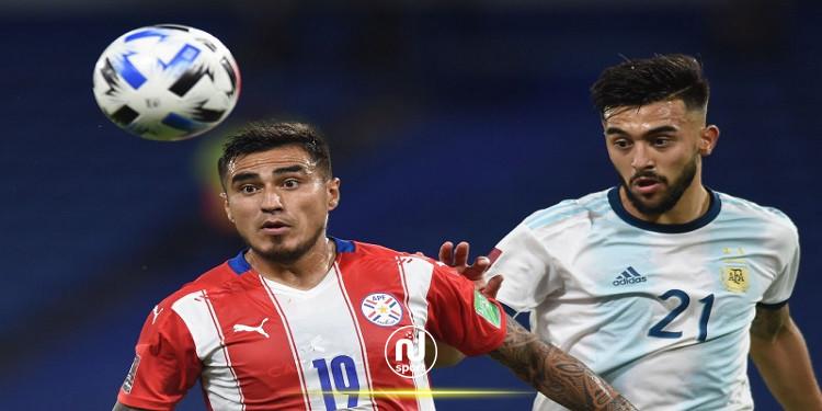 تصفيات مونديال 2022:الأرجنتين تكتفي بالتعادل أمام باراغواي