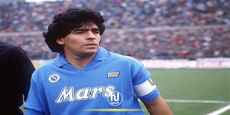 نابولي يخلد ذكرى الراحل مارادونا بقميص خاص