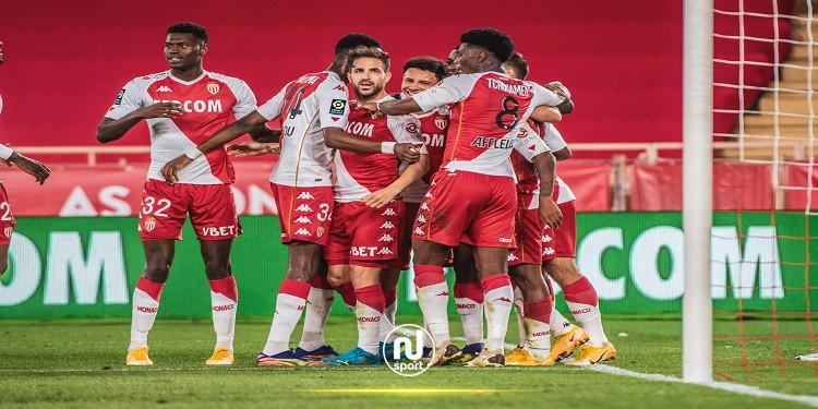 الدوري الفرنسي: موناكو يوقف السلسلة الإيجابية لباريس سان جيرمان