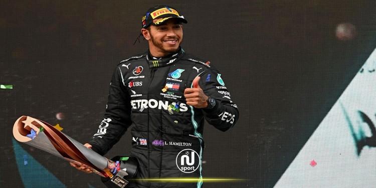 بعد فوزه بسباق جائزة تركيا الكبرى: هاميلتون يعادل رقم شوماخر